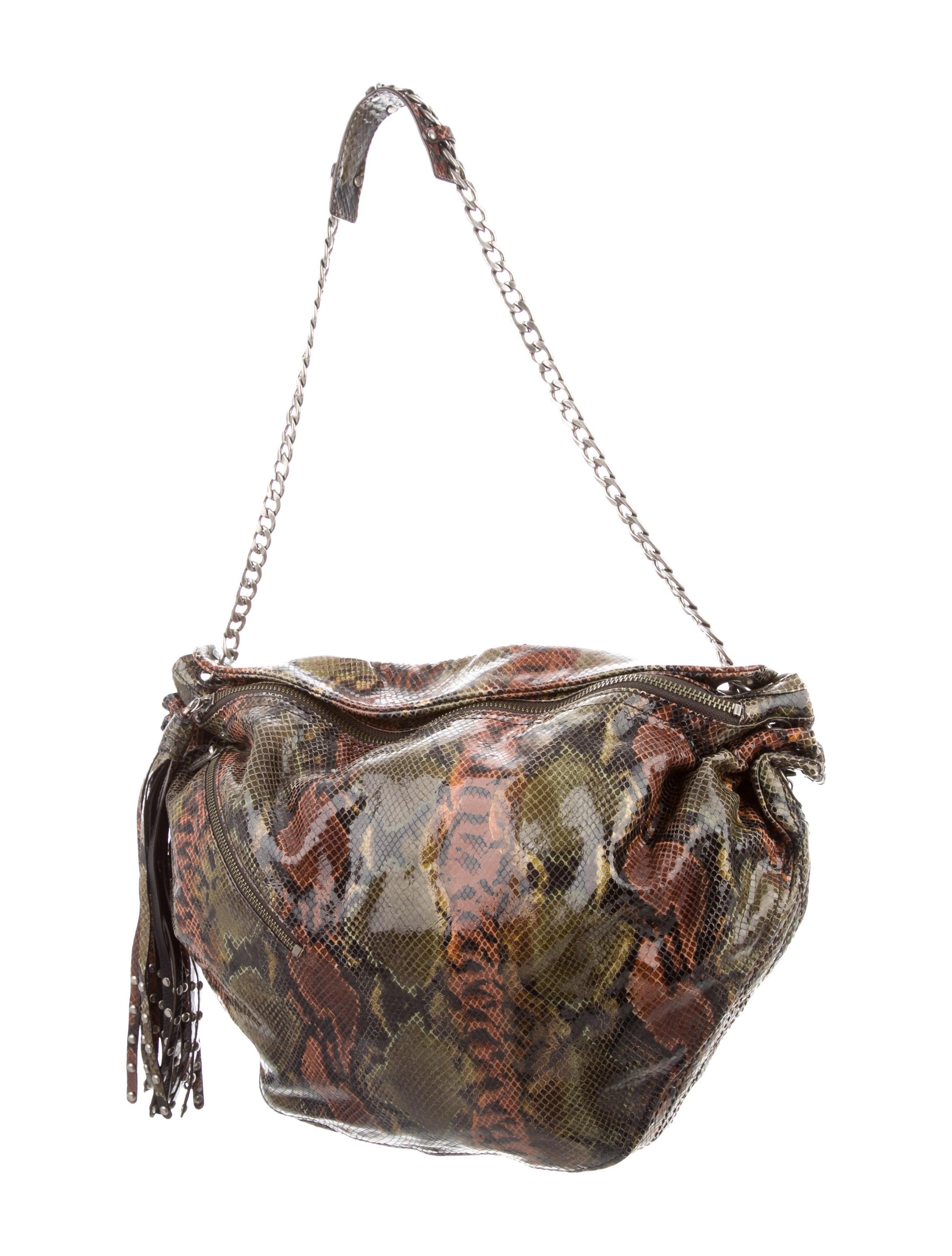 Botkier Embossed Shoulder Bag - Handbags