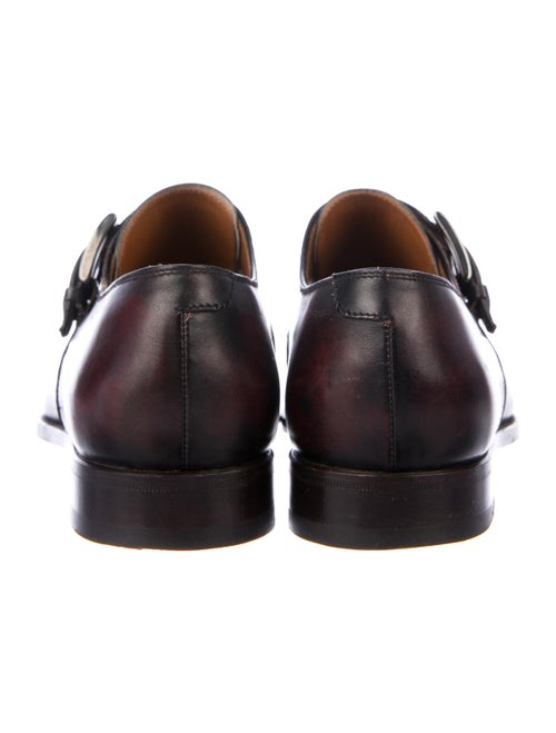 Bontoni Leather Monk Straps