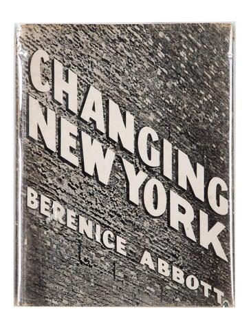 Berenice abbott changing new york book