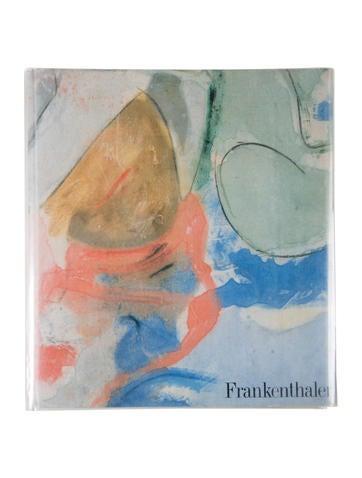Frankenthaler Signed Hardcover Book