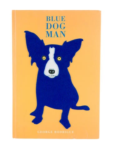 Blue Dog Man None