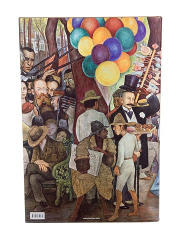 Book diego rivera the complete murals decor and for Diego rivera first mural