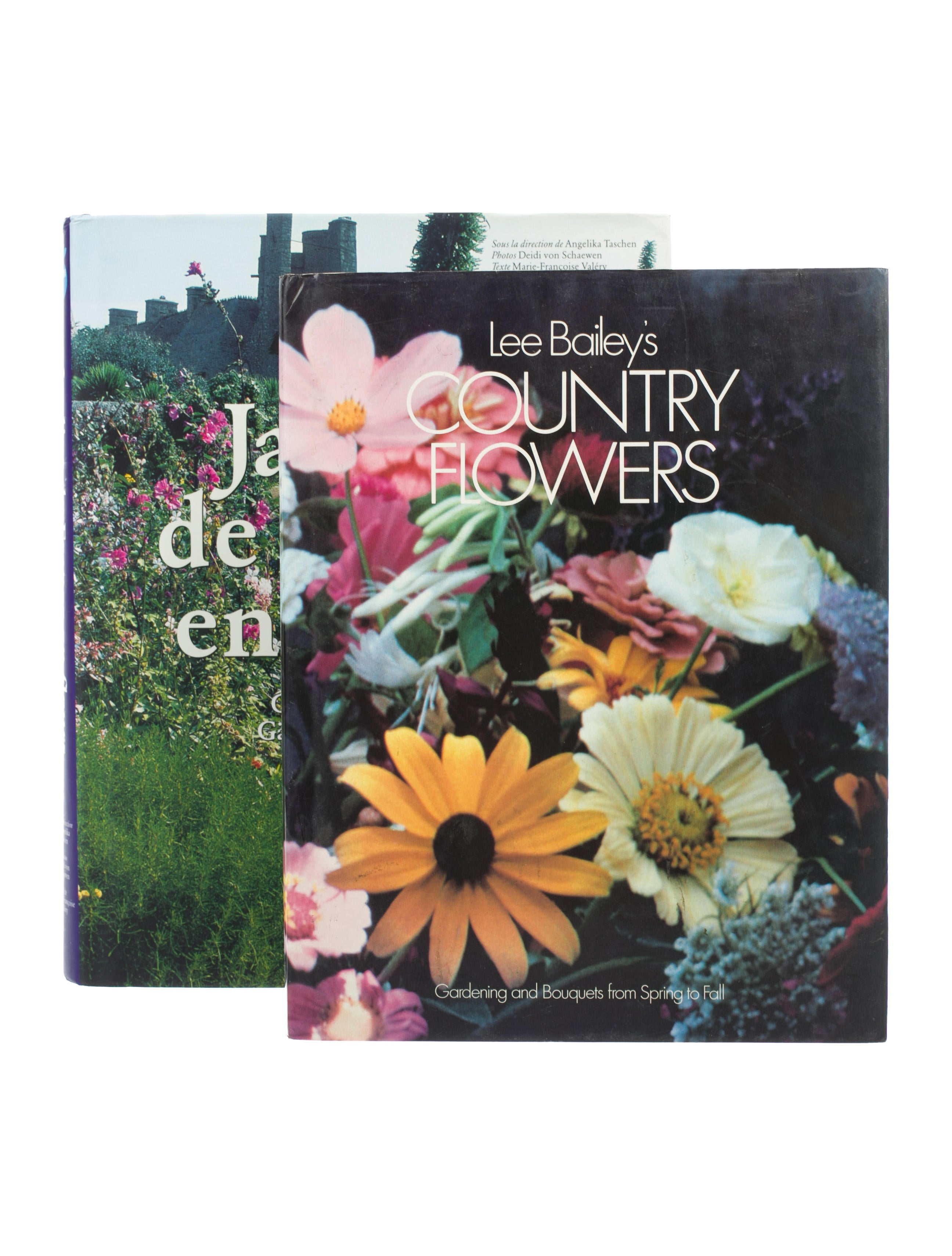 2 piece garden book set decor and accessories for Jardin francais jewelry
