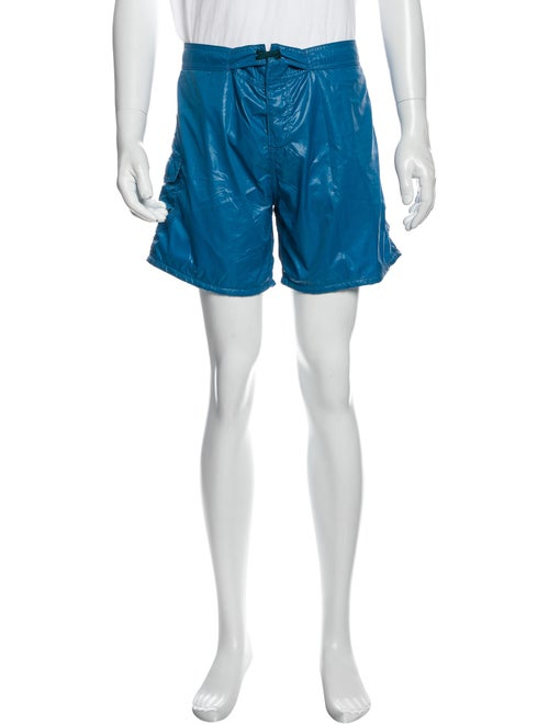 Bottega Veneta Swim Trunks Blue