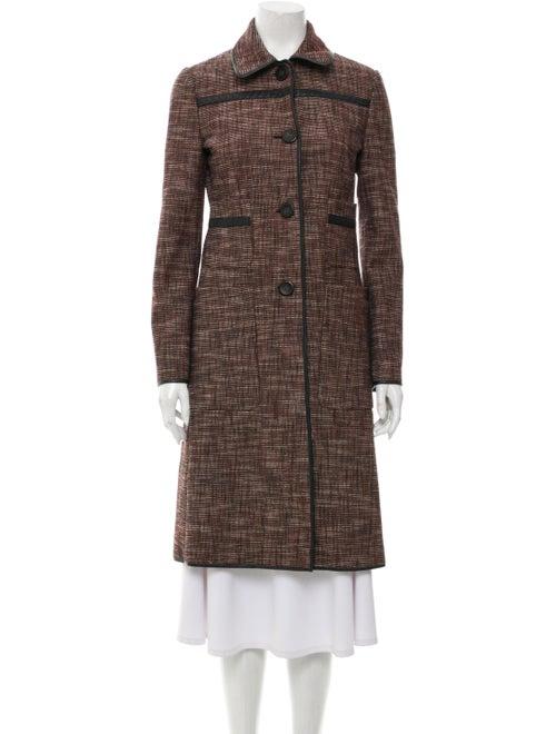 Bottega Veneta Tweed Pattern Coat