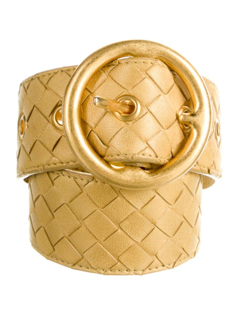 Bottega Veneta Intrecciato Weave Leather Waist Be… - image 1