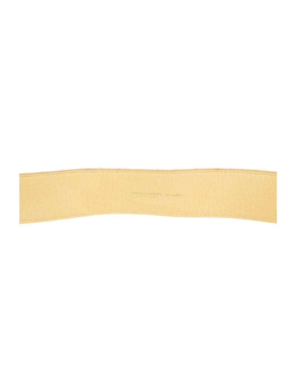 Bottega Veneta Intrecciato Weave Leather Waist Be… - image 2