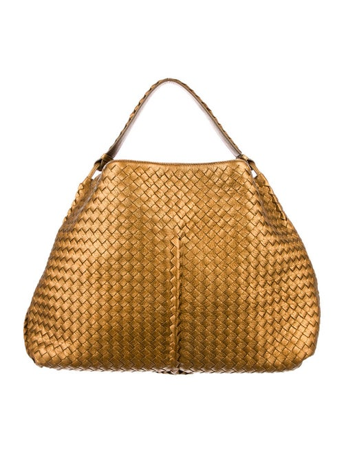 3291c2d68766d Bottega Veneta Cervo Large Shoulder Bag - Handbags - BOT21917 | The ...