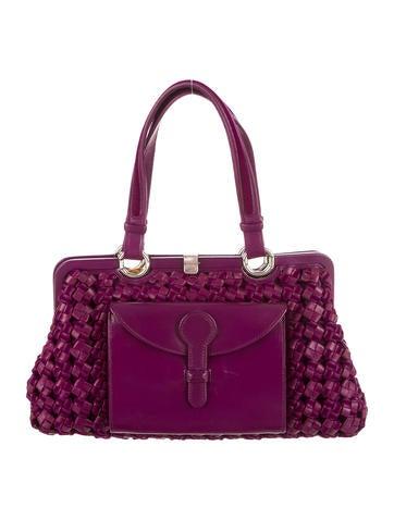 Intrecciato Handle Bag