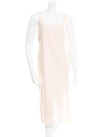 Bottega Veneta Embellished Midi Dress None