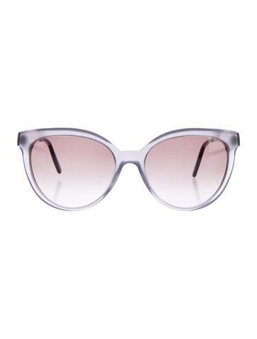 Cat-Eye Gradient Sunglasses