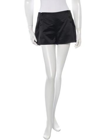 Bottega Veneta Silk Blend Mini Shorts