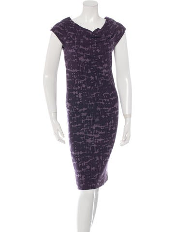 Bottega Veneta Sleeveless Printed Dress