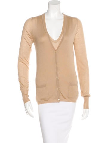 Bottega Veneta Cashmere Cardigan Set None