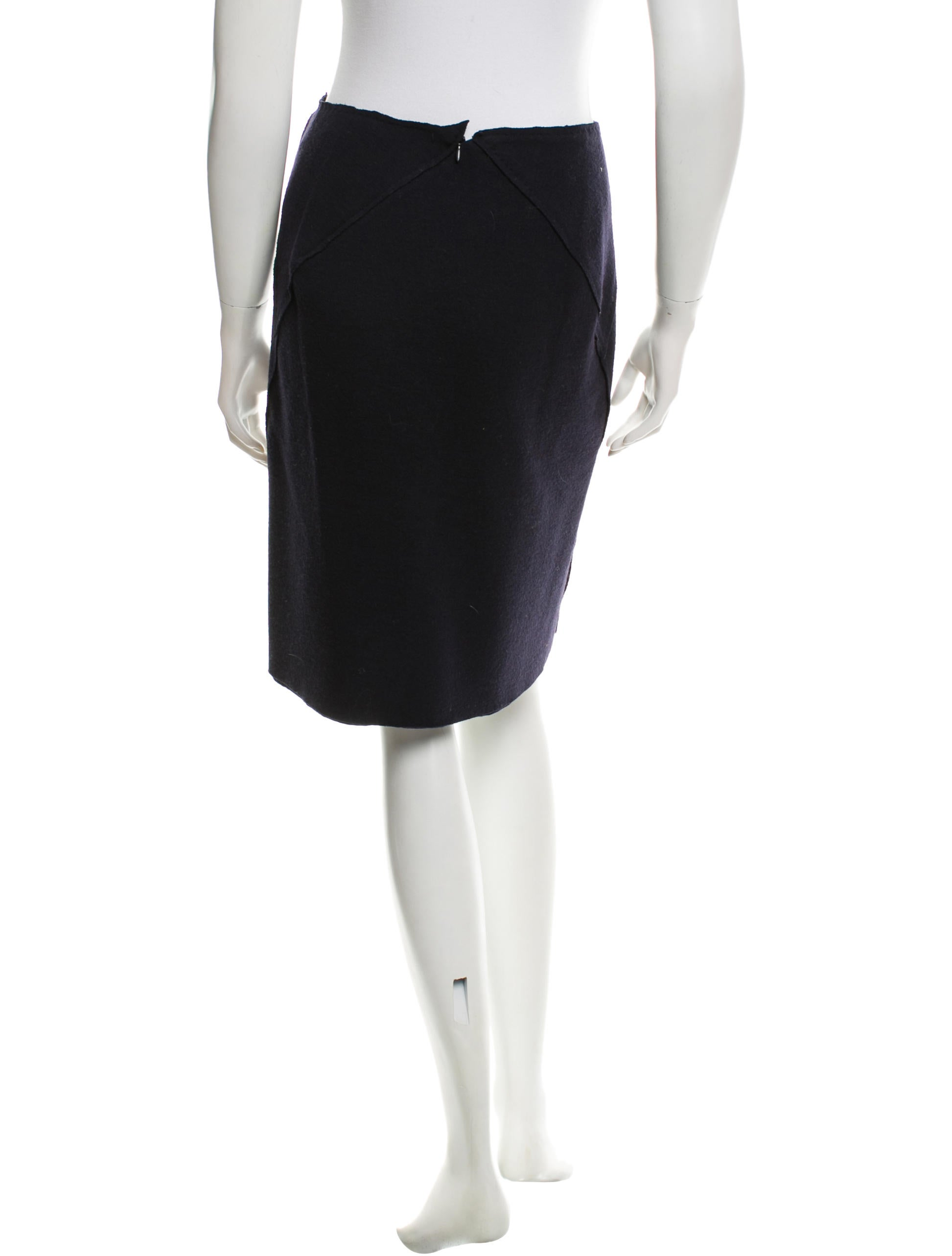 bottega veneta fitted pencil skirt clothing bot38440