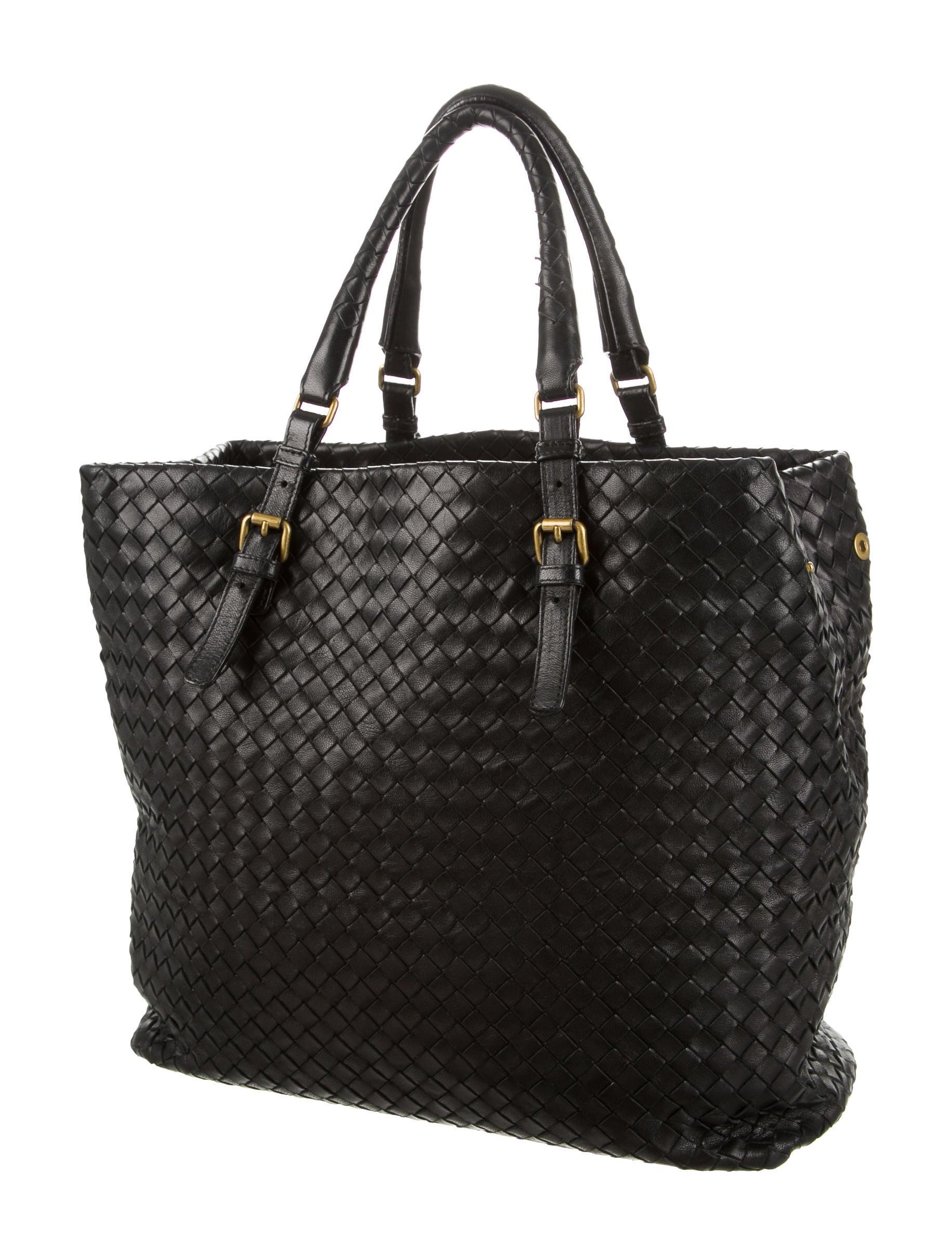 Bottega veneta intrecciato tote bag handbags bot38678 the realreal - Mobili bottega veneta ...