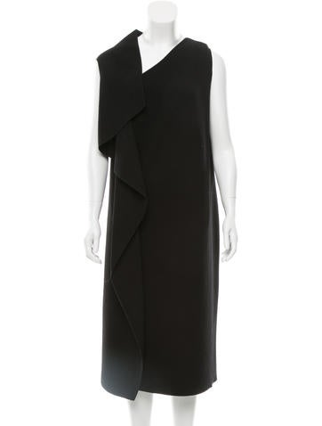 Bottega Veneta Wool Asymmetrical Dress