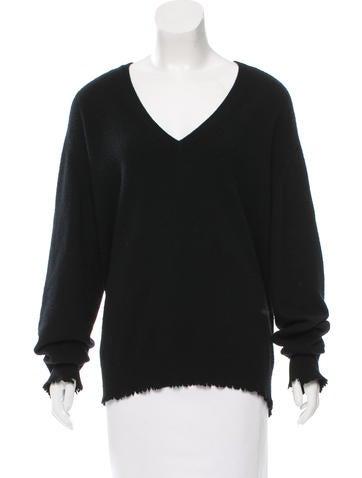 Bottega Veneta Cashmere V-Neck Sweater None
