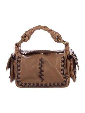 Bottega Veneta Leather Knot Handle Bag