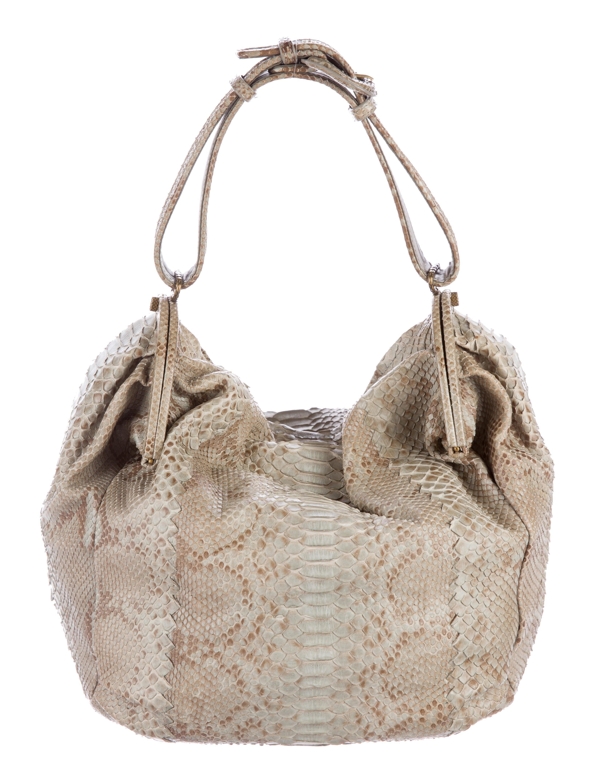 f8917544c1 Bottega Veneta Python Duette Bag - Handbags - BOT42268