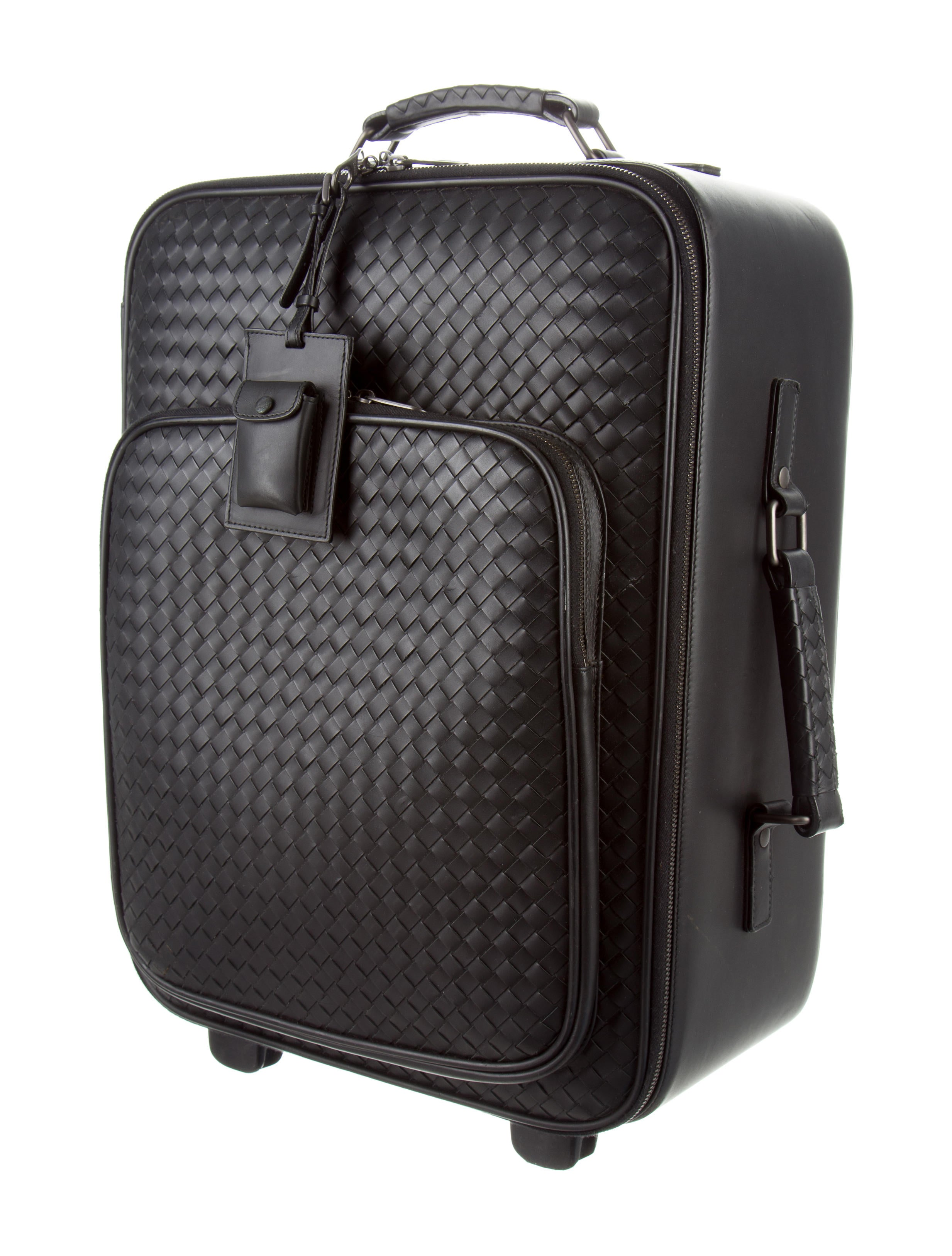 Bottega Veneta Intrecciato Trolley Luggage