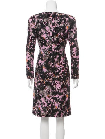 42327259b1ee Bottega Veneta Silk Graphic Printed Dress - Clothing .