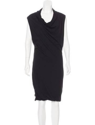 Bottega Veneta Cashmere Sleeveless Dress None