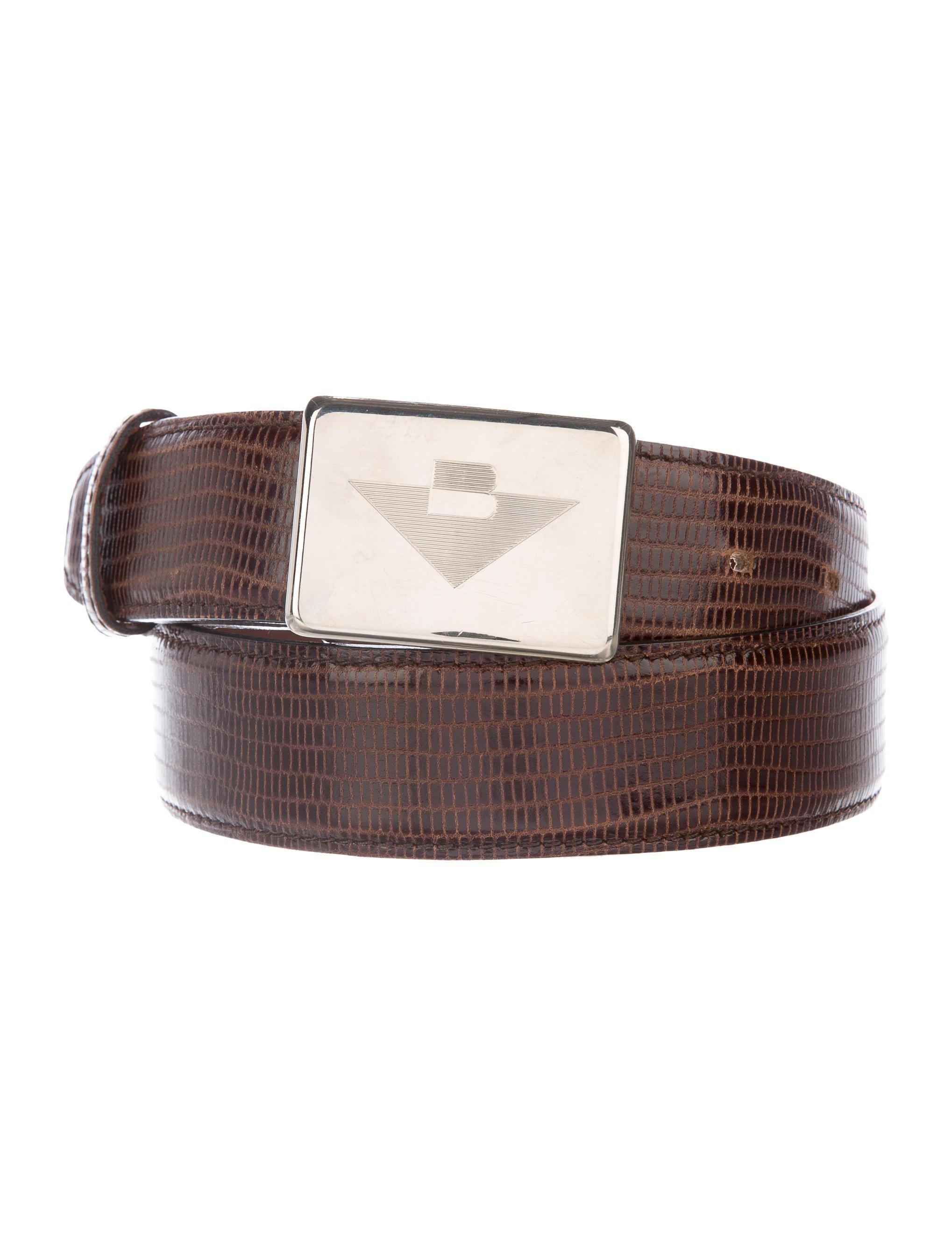 bottega veneta embossed leather belt accessories