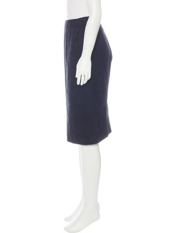 bottega veneta knee length pencil skirt clothing
