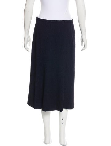 bottega veneta tweed pencil skirt clothing bot46388