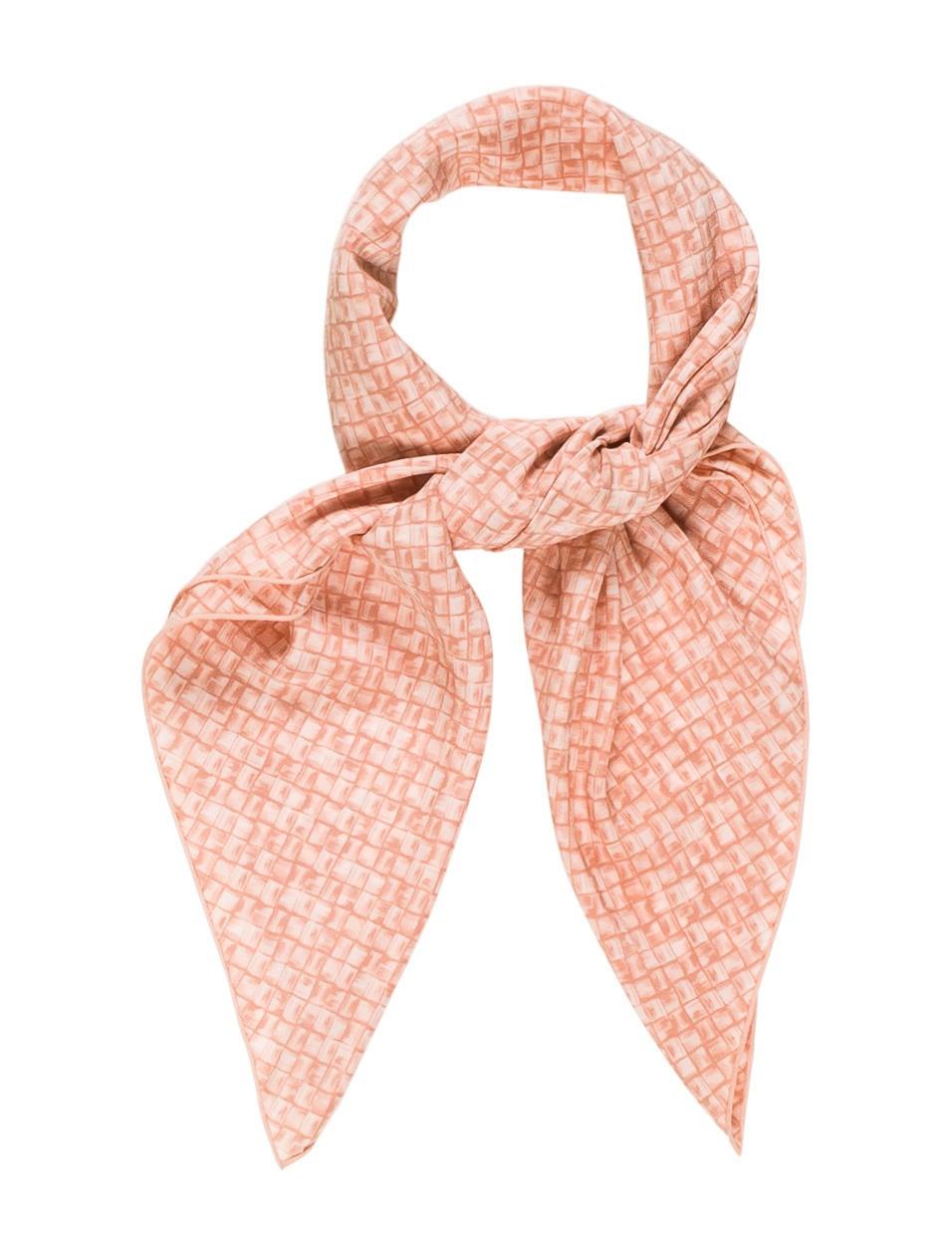 bottega veneta silk printed scarf accessories bot47092