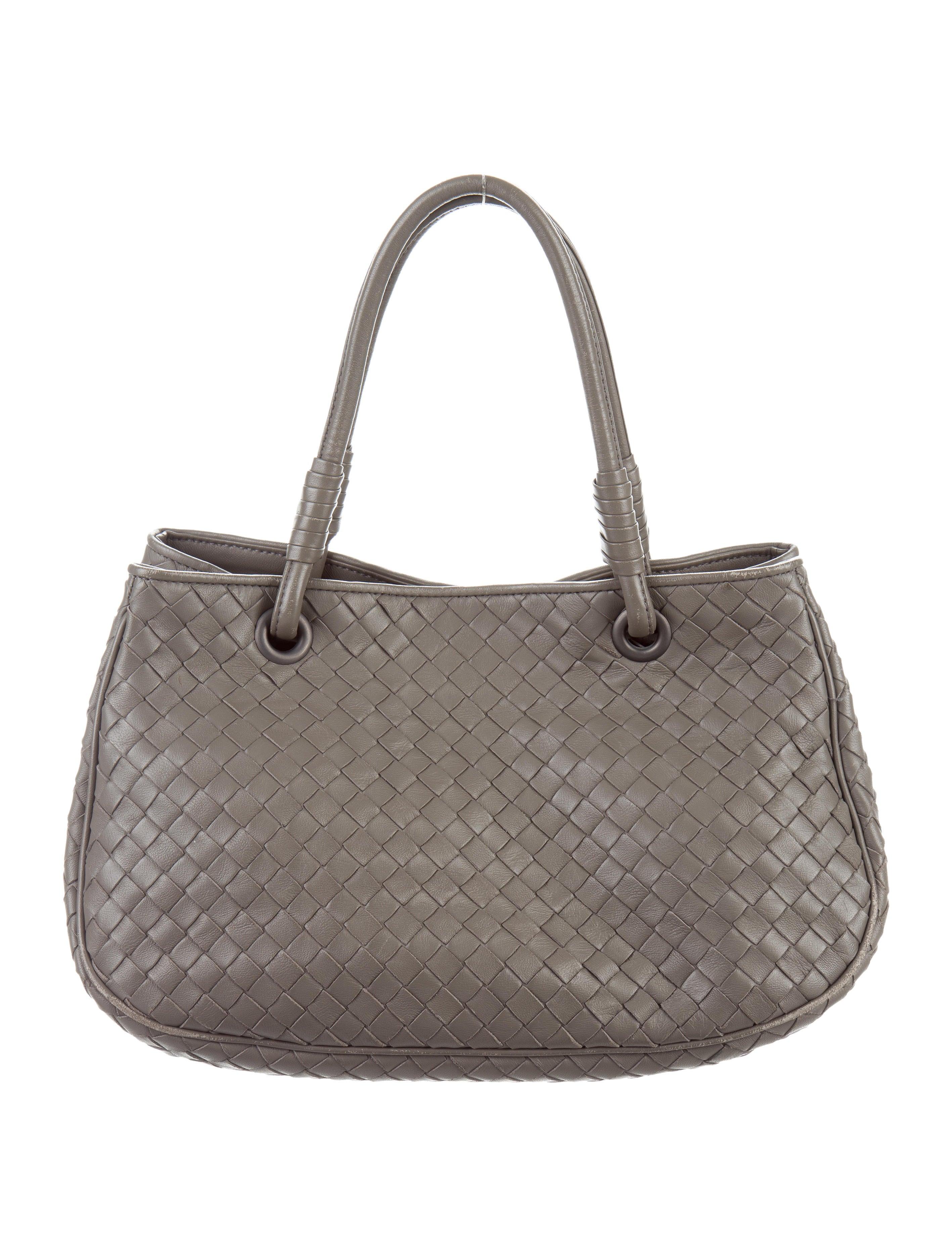 Bottega Veneta Small Intrecciato Tote Handbags  : BOT473521enlarged from www.therealreal.com size 2835 x 3740 jpeg 812kB