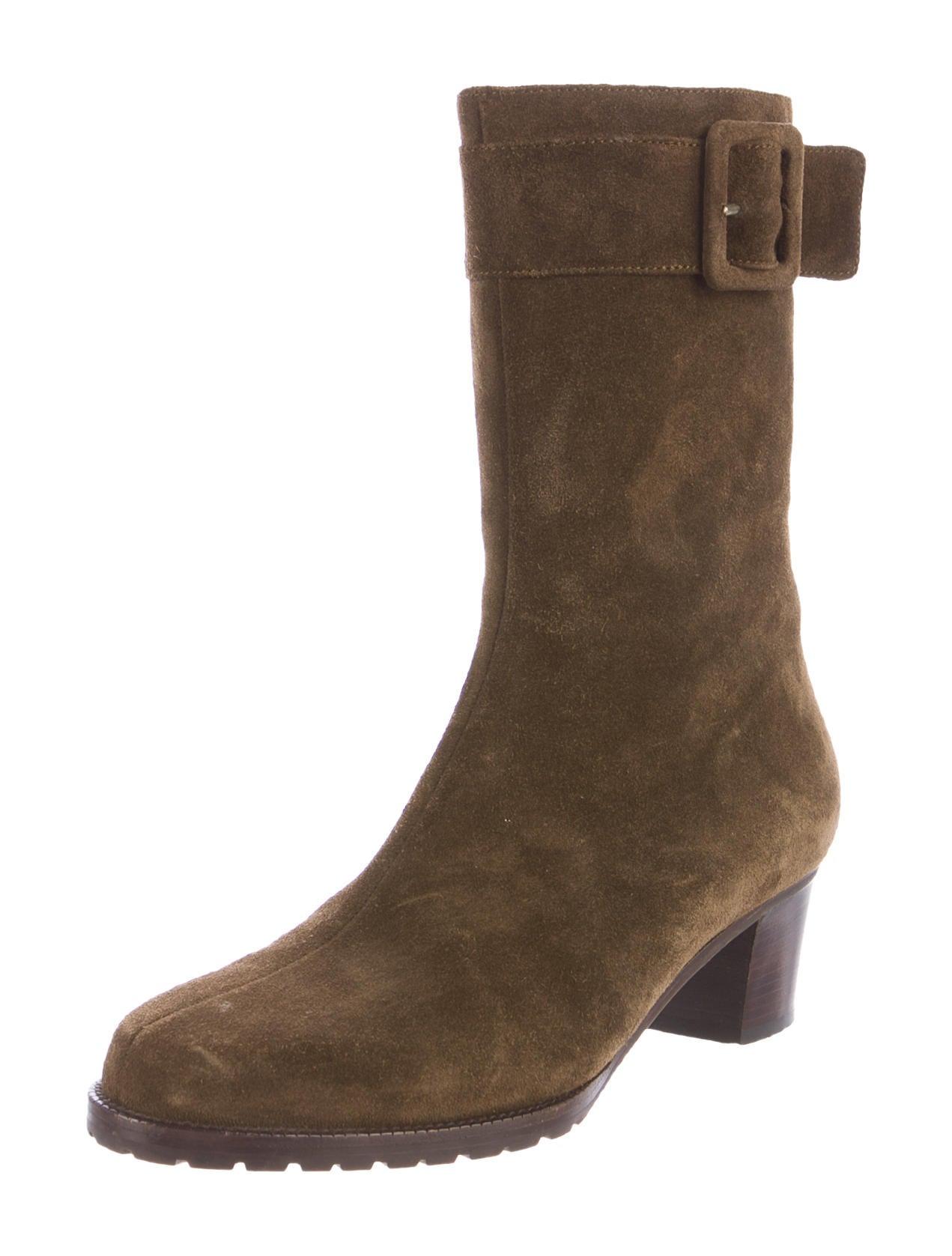 bottega veneta suede toe ankle boots shoes