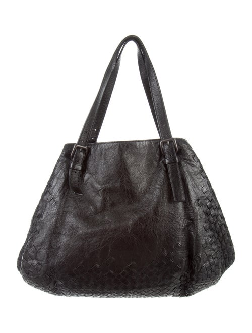 96fd31f4334e Bottega Veneta Intrecciato Nappa Large Cesta Bag - Handbags ...