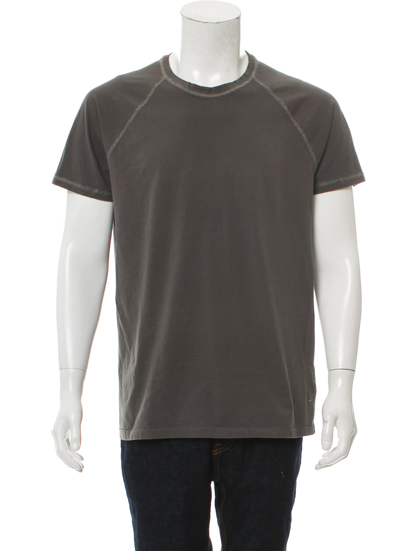 Bottega veneta scoop neck short sleeve t shirt clothing for Bottega veneta t shirt