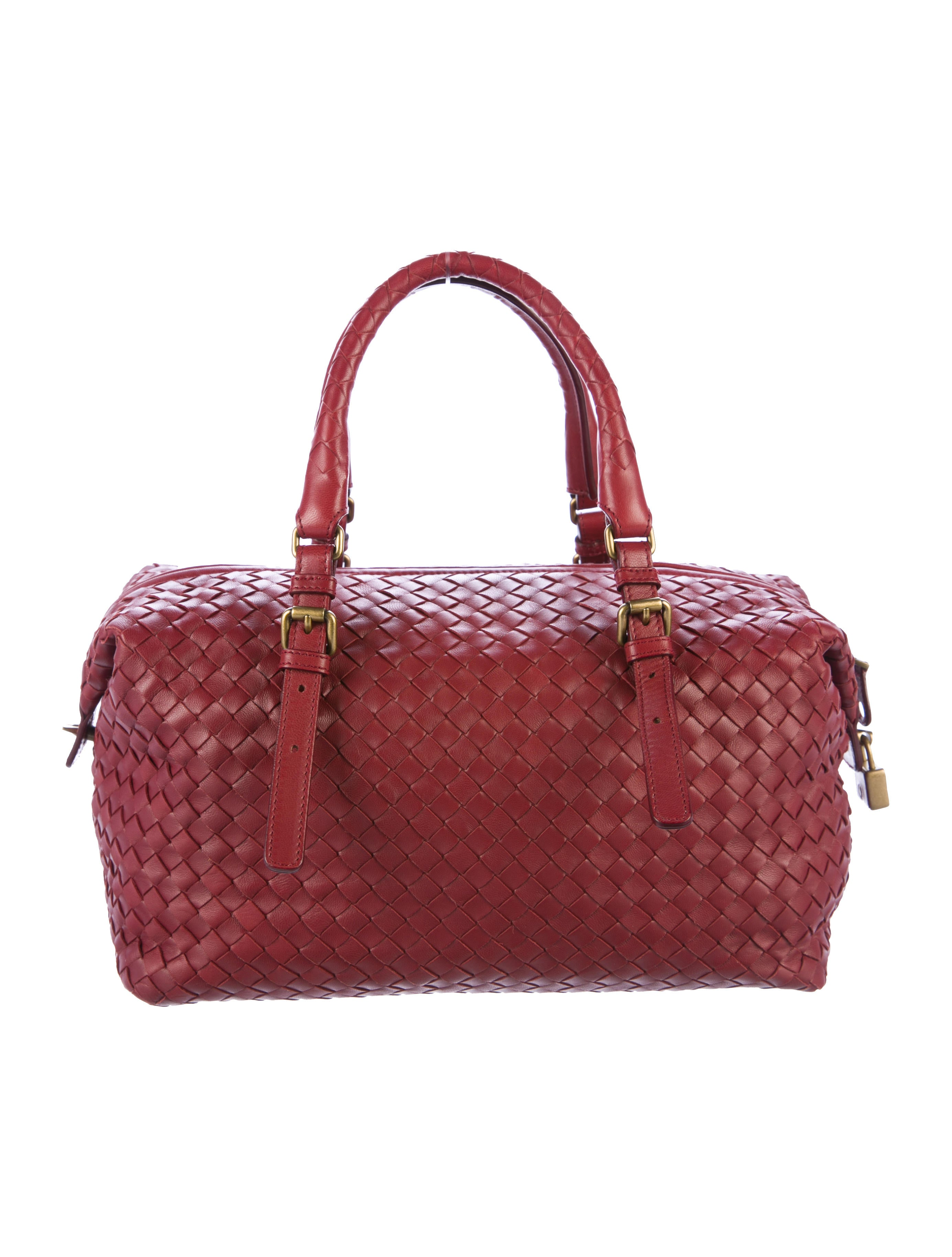 Boston Bag Patchwork Tutorial: Bottega Veneta Intrecciato Boston Bag