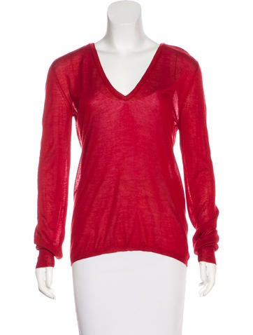 Bottega Veneta Knit Cashmere Top None