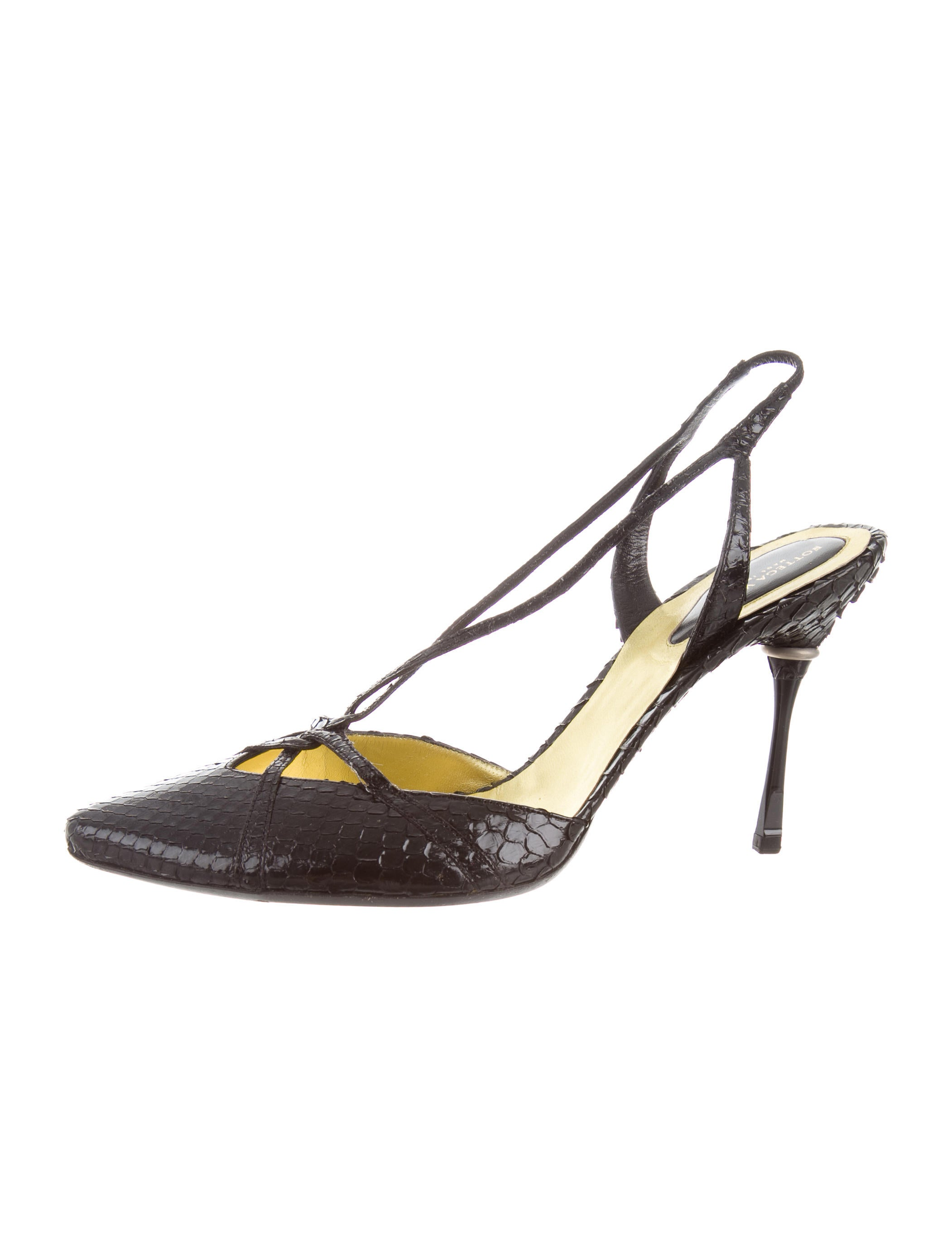 Bottega Veneta Python Pointed-Toe Pumps cheap sale with credit card hHNJThR