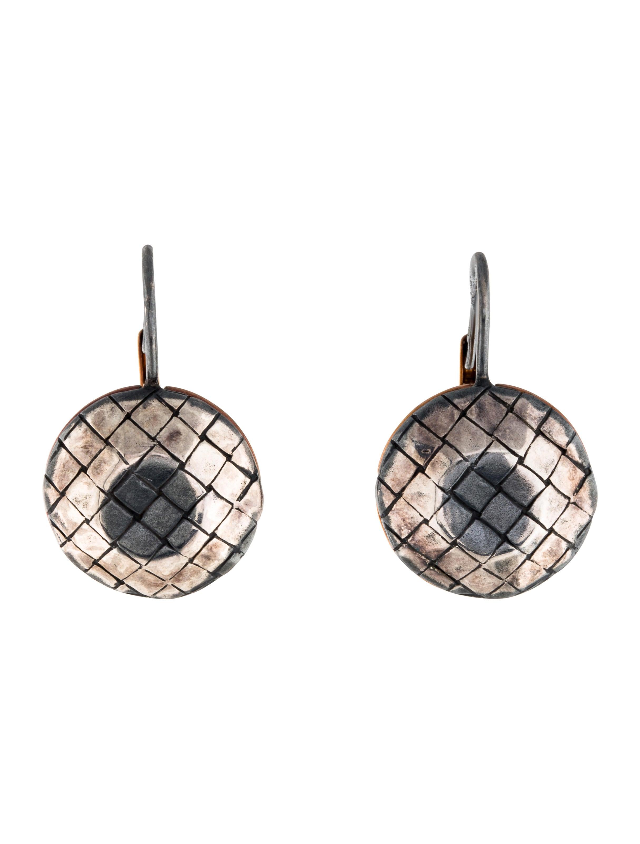 Bottega Veneta Intrecciato drop earrings gnhbHj4oM0