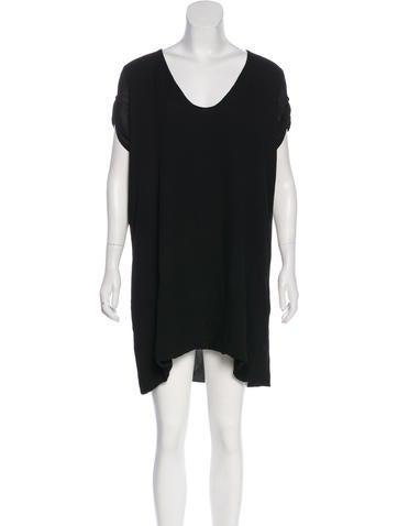 Bottega Veneta Silk Mini Dress None