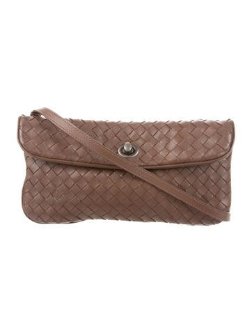 Bottega Veneta Intrecciato Crossbody Bag None
