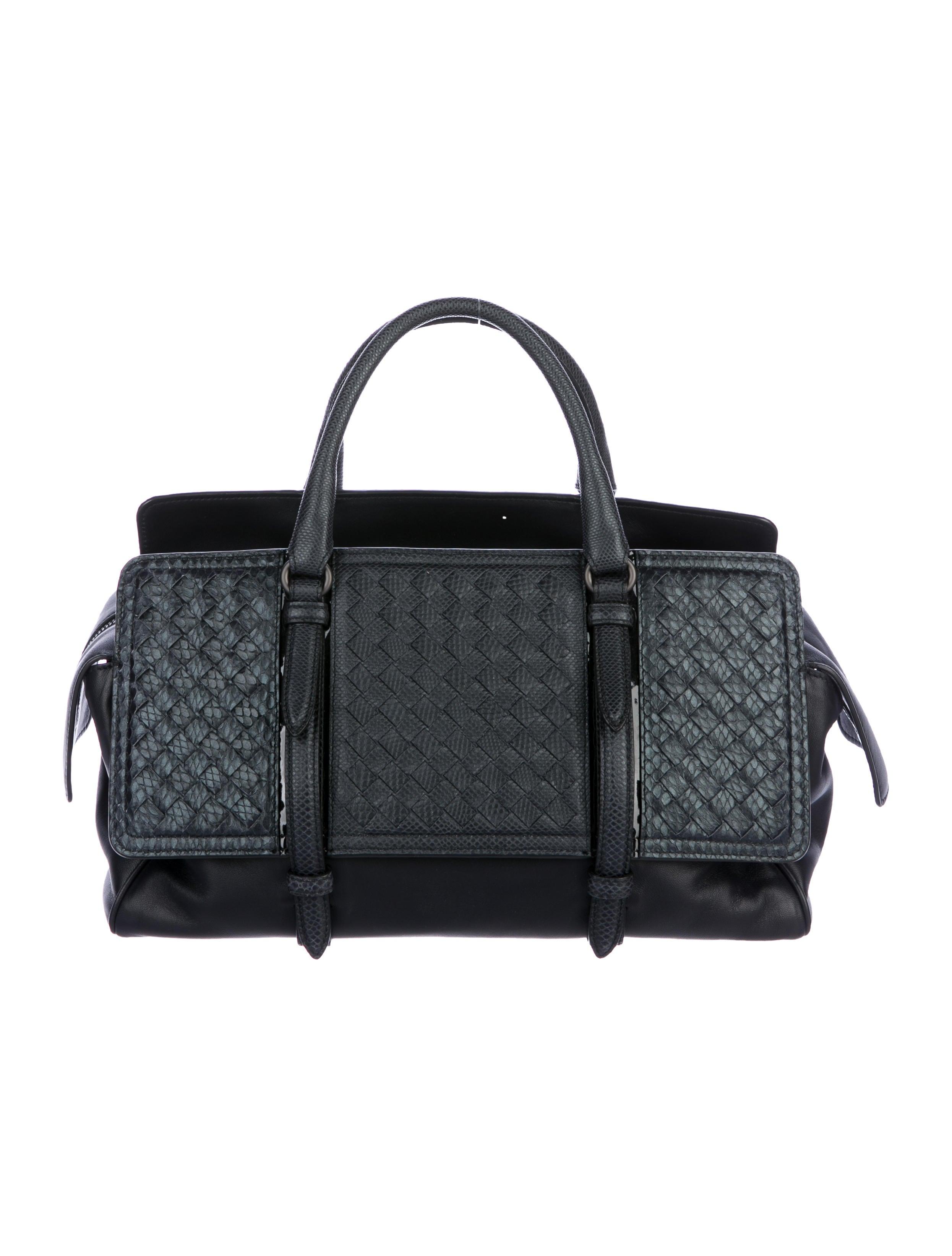 5d8e6e64bf Bottega Veneta Karung   Snakeskin Monaco Bag w  Tags - Handbags ...