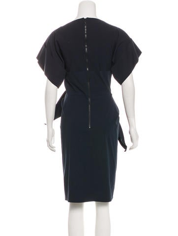Woven Knee-Length Dress