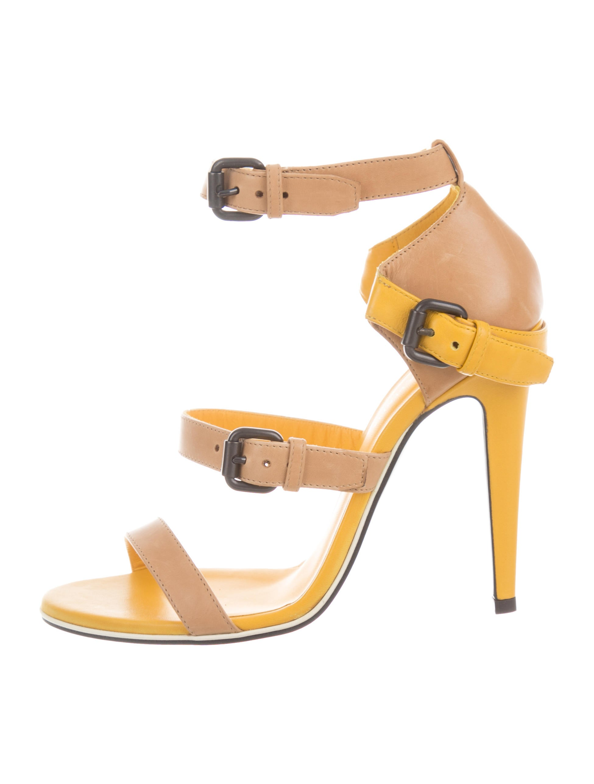 buy cheap outlet locations pick a best Bottega Veneta Leather Multistrap Sandals w/ Tags discount purchase outlet for cheap 5KBeIrD3Cl