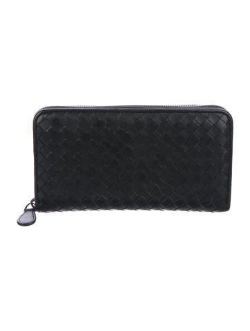 bottega-veneta-leather-intrecciato-wallet by bottega-veneta