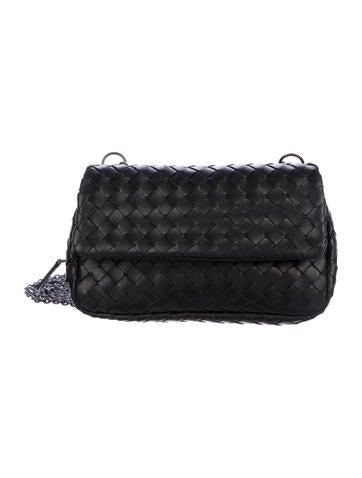 aa9c1bc0fa6d Bottega Veneta. Intrecciato Leather Crossbody Bag