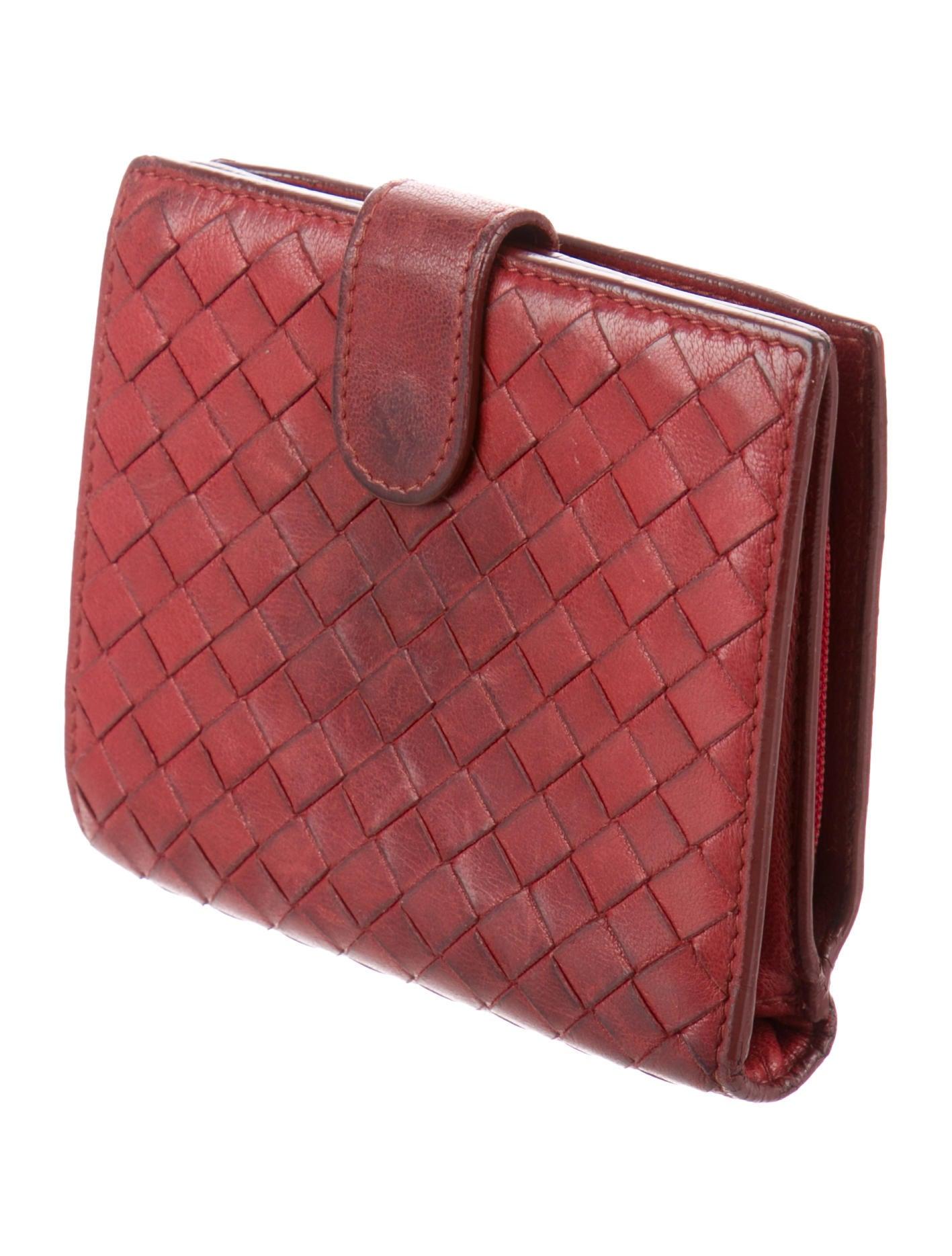 Bottega Veneta Intrecciato Leather Compact Wallet - Accessories ... bef69de1423ef