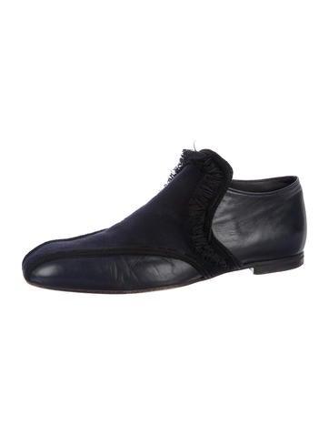 b1fed39c60e Bottega Veneta Fringe Square-Toe Loafers - Shoes - BOT60724