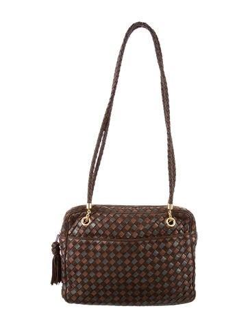 4d762309f198 Bottega Veneta. Intrecciato Leather Bag