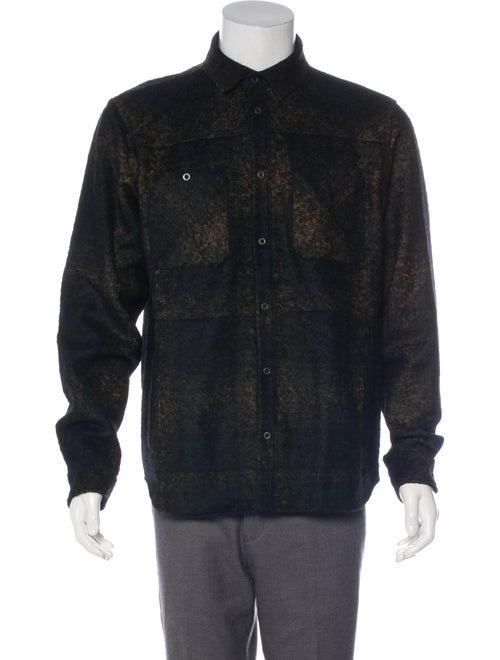 Bottega Veneta Wool & Alpaca-Blend Shirt Jacket br